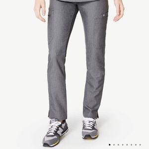 Figs Yola Skinny Scrub Pant Grey